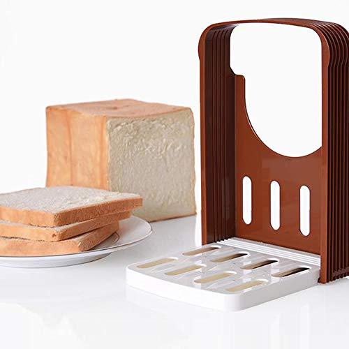 Goodplan DIY Backenwerkzeuge Brotschneider Toast Allesschneider Rack Faltbare Toast Allesschneider Küche Liefert für Hausbackerei Verwenden 1 STÜCKE