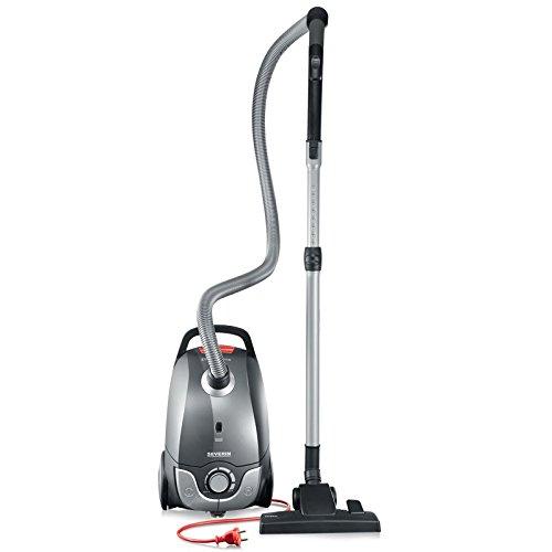 Severin Germany Vacuum Cleaner, Corded (Platinum Grey)