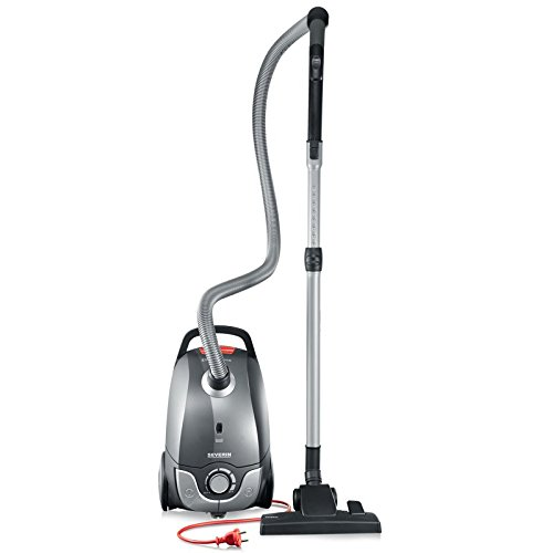 Severin Germany Corded (Platinum Grey): Best Home Vacuum Cleaner For Pet Hair and Hard Floors