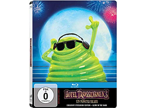 Hotel Transsilvanien 3 - Exklusiv Glow in the Dark Steelbook Limited Edition (Ein Monster Urlaub)- Blu-ray