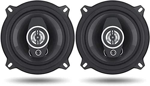 Di Tutto Per Tutti® Coppia Casse Auto Audio 16 CM 500 Watt 4 Vie Con Griglia Altoparlanti Coaxial Speaker 4 Ohm TS-1672