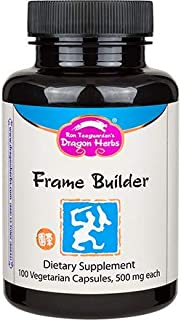 Dragon Herbs Frame Builder -- 500mg - 100 Vegetarian Capsules
