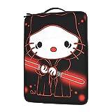 Hello Kitty Star Wars - Bolsa de hombro para ordenador portátil con gran capacidad de 13 14 15,6 pulgadas