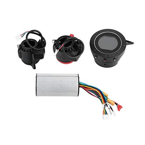 Shipenophy Controlador de Placa Base sin escobillas Controlador de Scooter de Freno de Acelerador Inteligente para Scooter de Pantalla LCD