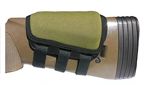 ITC Rifle Cheek Pad/Cheek Riser/CheekRest Marksmanship/Olive Wet Suit