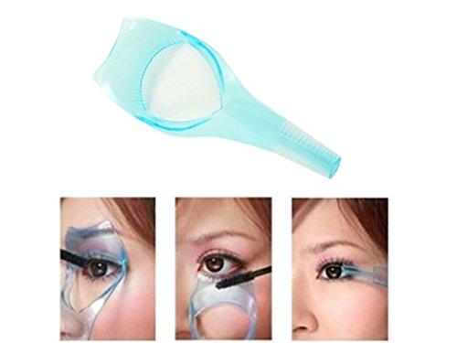 3-in-1 Schminkhilfe für Mascara, mit Wimpernbürstchen