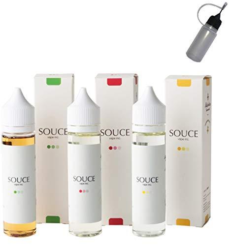 SOUCE 60ml 電子タバコ VAPE シンガポール リキッド タール ニコチン0 (�A ポメロ パッションフルーツ)
