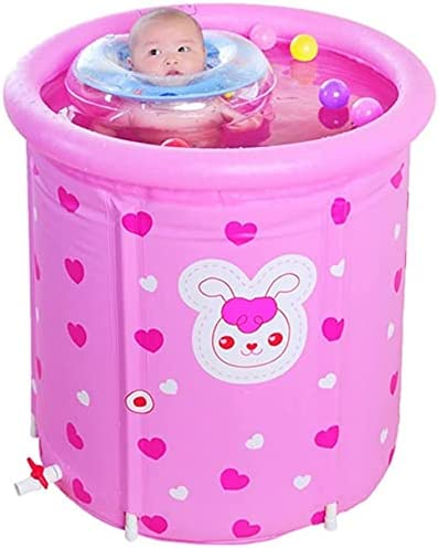 Houston Mall Hewen Folding Bathtub OFFicial site Bathtubs Inflatable Hot Adult Child Infant