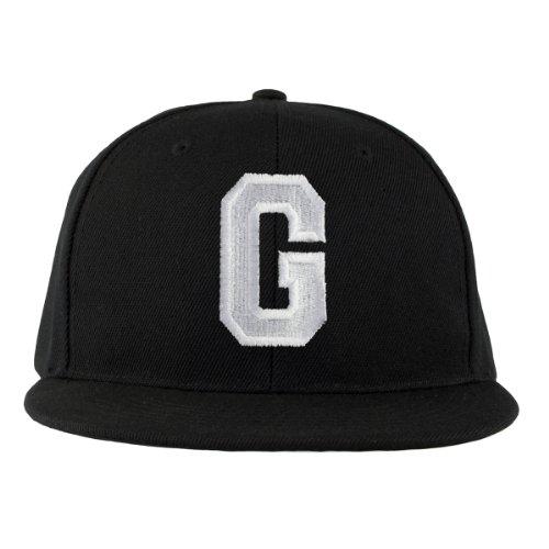 4sold - Gorra en negro/blanco con letras A a Z, Hombre,...