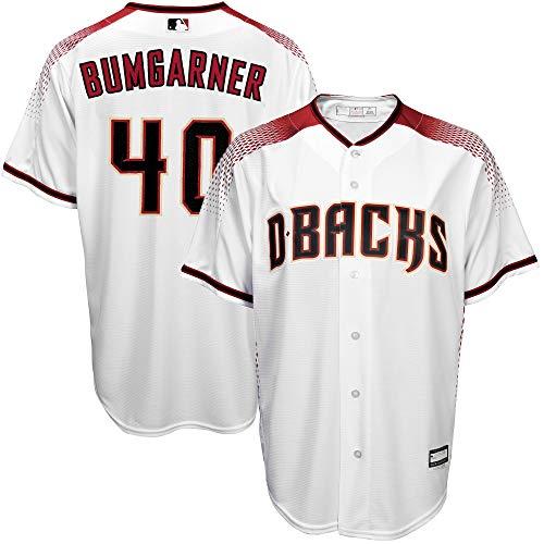 Madison Bumgarner Arizona Diamondbacks Youth 8-20 White Home Cool Base Replica Jersey (18-20)