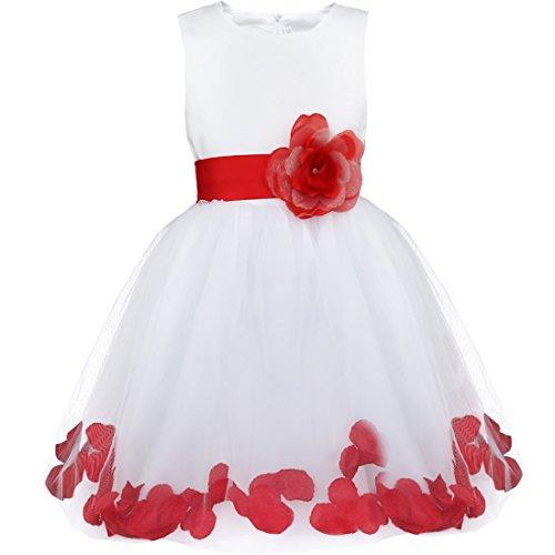 Vestido Rojo De Niña Lindovestidocom