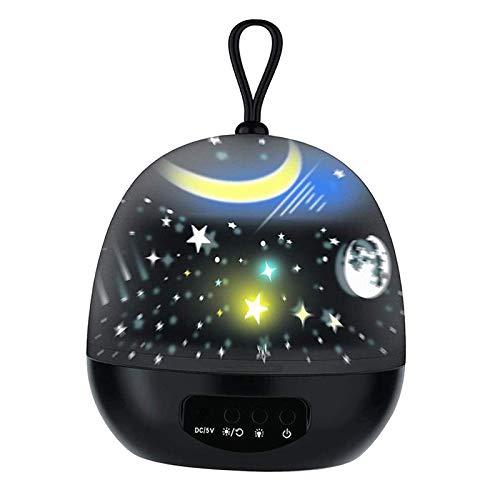 MERIGLARE Cumpleaños de La Lámpara del Proyector de La Estrella de La Luz Nocturna Multifuncional,