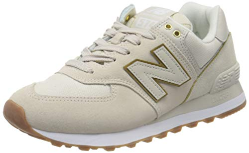New Balance Damen 574v2 Sneaker, Grau (Grey Soa), 40 EU