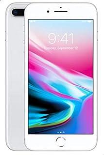 ابل ايفون 8 Plus بدون تطبيق فايس تايم - 64 جيجا, الجيل الرابع ال تي اي, فضي