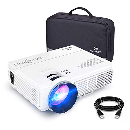 VANKYO Q5 Mini Video Projector with Bonus Bag, White