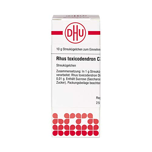 DHU Rhus toxicodendron C30 Streukügelchen, 10 g Globuli