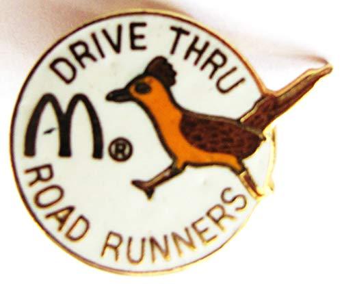 Mc Donalds - Drive Thru - Road Runners - Pin 22 x 17 mm