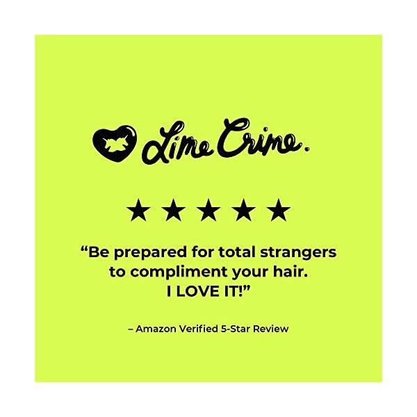 Lime Crime Unicorn Hair Dye, Pony - Electric Violet Purple Hair Color - Full Coverage, Ultra-Conditioning, Semi-Permanent, Damage-Free Formula - Vegan - 6.76 fl oz 4