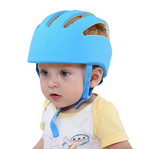 KeepCare Baby Safety Helmet With Corner Guard & Proper Ventilation (Blue)