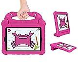 SORAKA Funda para iPad Mini 5 4 3 2 1 con Soporte de Mango Ligero a Prueba de Golpes con cordón, Compatible con iPad Mini 7.9 Pulgadas/Mini 2/Mini 3/Mini 4/Mini 5