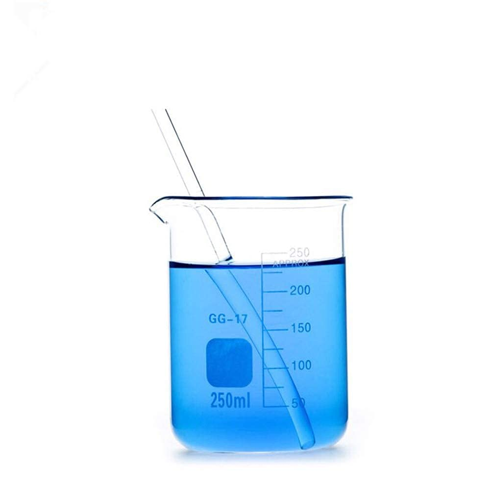 Raleigh Mall 3 Pack Micro Glass Brand new Borosilicate Beakers 250ml an 150ml Graduated