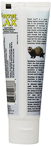 (3 Pack) Marshall Pet Products Ferret Lax Hairball and Obstruction Remedy 3-Ounces each