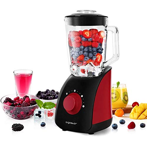 Aigostar Pomegranate 30JDF - Standmixer Smoothie Maker 750 Watt