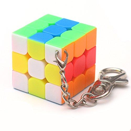 3 cm Mini 3 x 3 llavero Smart Cube juguete & creativo llavero decoración