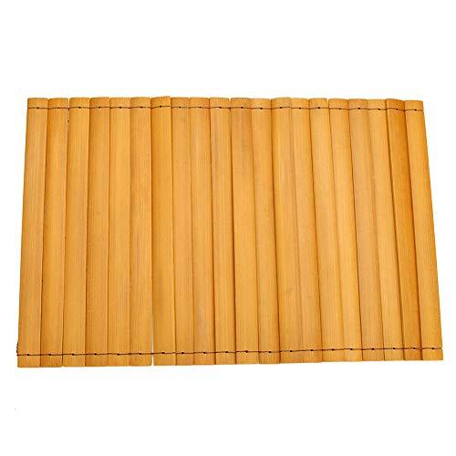 Xihuanni Sofa-Tablett aus Bambusholz, flexibel, faltbar, ideal für Getränke, Fernbedienung oder Handy, tolles Arm-Tablett für Couch-Armlehne