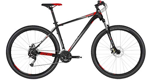 Kellys Spider 10 29R Mountain Bike 2019 (L/53cm, Black)