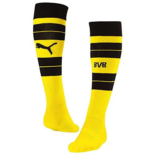 PUMA Accessoires Herren Socken BVB Hooped Socks CYBER YELLOW-BLACK 19