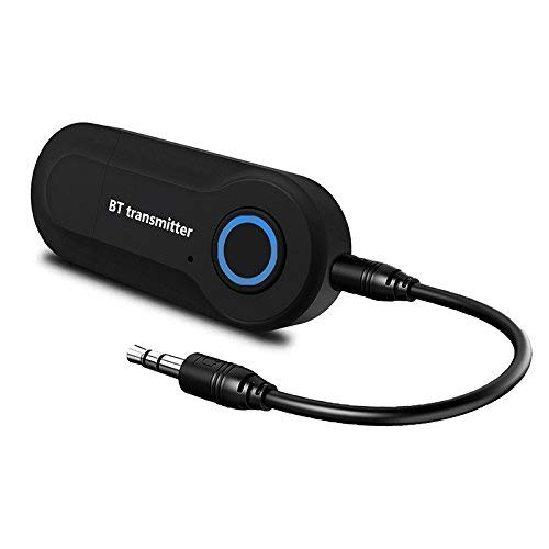 Aoile Bluetooth Audio Transmitter Wireless Audio Adapter Stereo Music Stream Transmitter for TV PC MP3 DVD Player