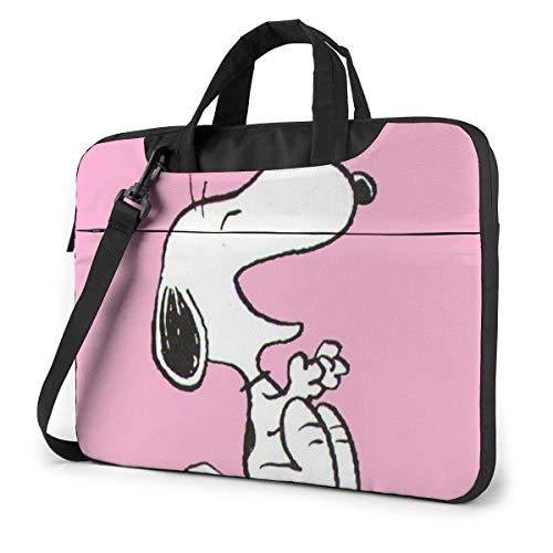 15.6″ Business Travel Laughing SNO-opy Laptop Notebook PC Briefcase Shoulder Messenger Bag Case Sleeve