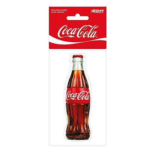 airflair CCLUF005 Auto Lufterfrischer Original Coca Cola Flasche, Rot, 0