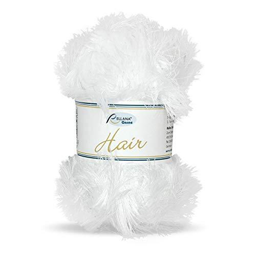 Rellana Hair, Fransengarn, 50 g Knäuel, versch. Farben (weiß)