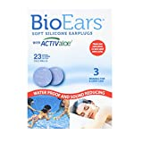 BioEars Soft Silicone Earplugs 3 Pairs