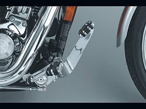 Kuryakyn 9063 Motorcycle Foot Controls: Standard Forward Control Kit for 1991-2017 Harley-Davidson Dyna Motorcycles, Chrome