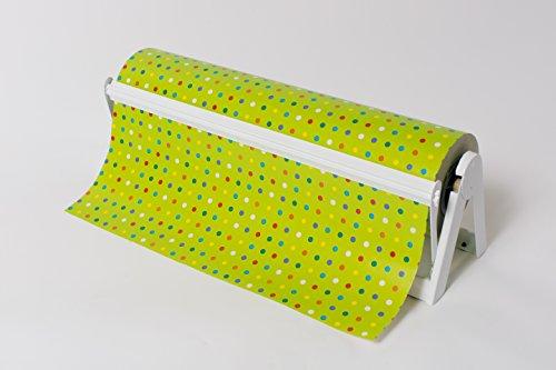 30' Gloss White - All in One Paper Roll Dispenser (2 Dispensers) - Bulman-A500-30GW