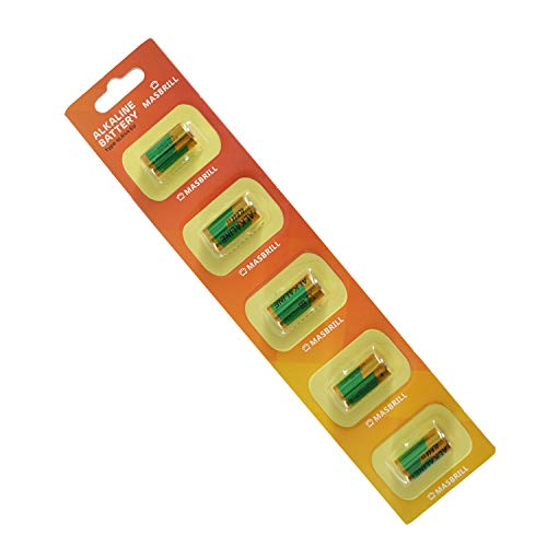 MASBRILL Bark Collar Battery 6V 4LR44 Alkaline Battery,476A / PX28A / A544 / K28A / L1325 for Vibration and Shock Dog Collar (5pcs)