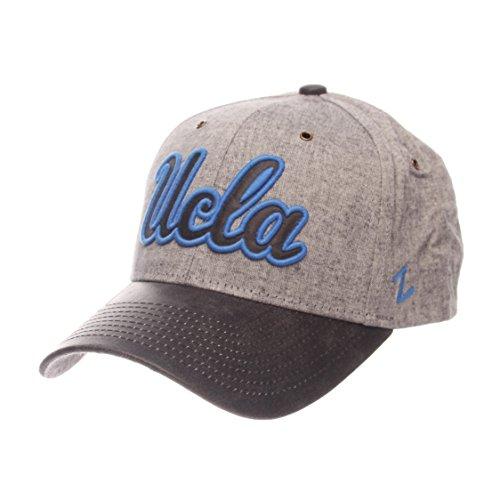 NCAA Zephyr UCLA Bruins Mens The Supreme Hat, Adjustable, Gray