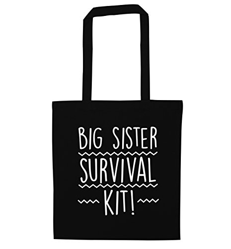 Big sister survival kit tote bag