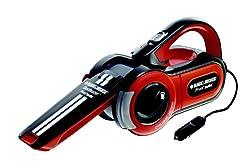 Black+Decker PAV1205, Auto-Handsauger, 12 Volt / 11 Watt, Schwarz/Orange/Weiß