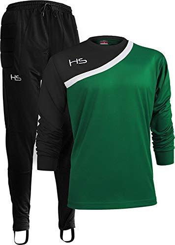 HS F15 Power, Kit Portiere Lungo Unisex – Adulto, Verde/Bianco/Nero, 2XL