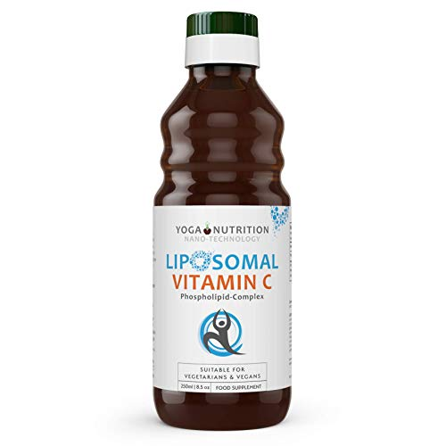 Liposomale Vloeibare Vitamine C - 250ml - Liposomaal voor Optimale Absorptie – Geen Kunstmatige conserveermiddelen – Ondersteunt het Immuunsysteem en Zenuwstelsel - van Yoga Nutrition
