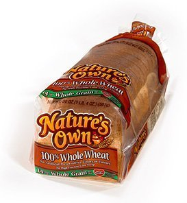 Nature's Own Whole Wheat Bread - Two Loaves by Nature's Own