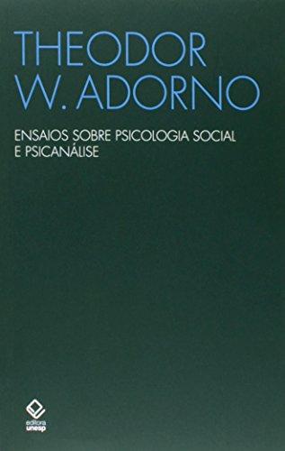 Ensaios sobre psicologia social e psicanálise
