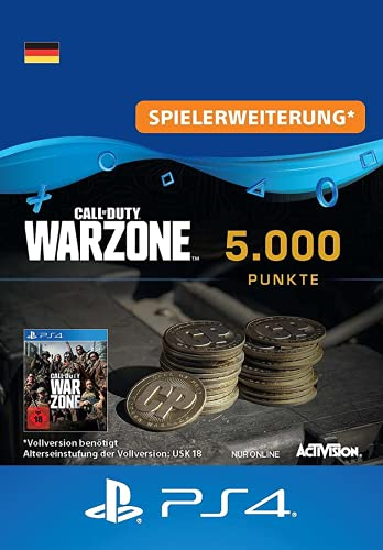 Call of Duty: Warzone 5.000 Punkte   PS4 Download Code - deutsches Konto