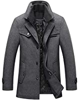 Lavnis Men's Winter Wool Coats...