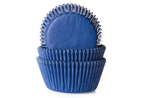 Muffinförmchen, dunkelblau