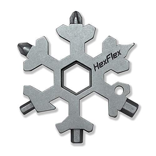Multi tool Standard Metric Snowflake Stainless Steel